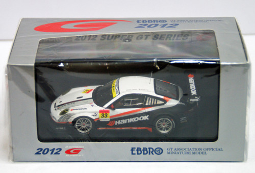 Ebbro 44751 Hankook Porsche Super GT 300 2012 No.33 (Resin Model) 1/43 Scale