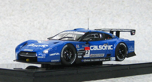 Ebbro 44851 Nissan Skyline Clasonic IMPUL GT-R Low Down Force Super GT500 2012 No.12 1/43 Scale