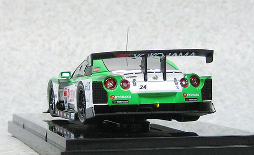 Ebbro 44853  Nissan Skyline D'Station Advan GT-R Low Down Force Super GT500 2012 No.24 1/43 Scale