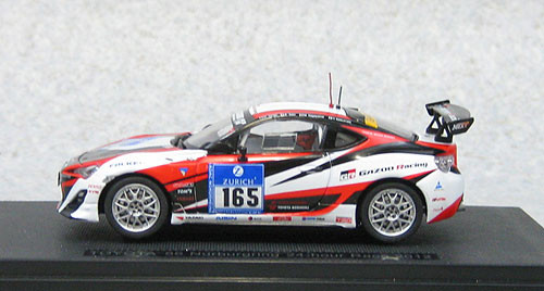 Ebbro 44899 Toyota 86 Nurburgring 24 hour Race 2012 #165 1/43 Scale