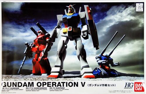 Bandai 040305 Gundam OPERATION V RX-78-2 1/144 Scale Kit