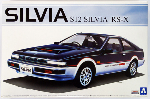 Aoshima 50354 Nissan Silvia (S12) RS-X 1/24 Scale Kit