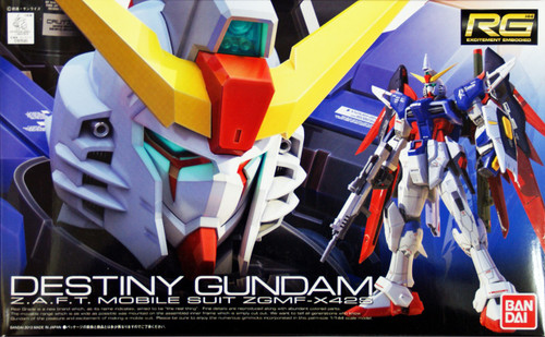 Bandai RG 11 Destiny Gundam Z.A.F.T. Mobile Suit ZGMF-X42S 1/144 Scale Kit