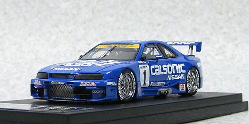Ebbro 44769 Calsonic Skyline GT-R JGTC 1996 #1 Sugo/K.Hoshino/M.Kageyama (Resin Model) 1/43 Scale