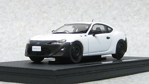Ebbro 44885 Toyota 86 RC (White) 1/43 Scale