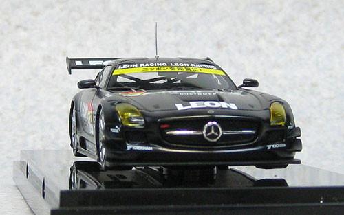 Ebbro 44944 Mercedes-Benz LEON SLS AMG SUPER GT300 2013 Okayama Test #62 1/43 Scale