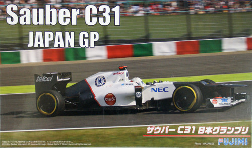 Fujimi GP51 F1 Sauber C31 Japan GP 1/20 Scale Kit