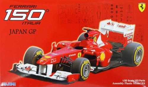 Fujimi GP52 F1 Ferrari 150° Italia Japan GP 1/20 Scale Kit