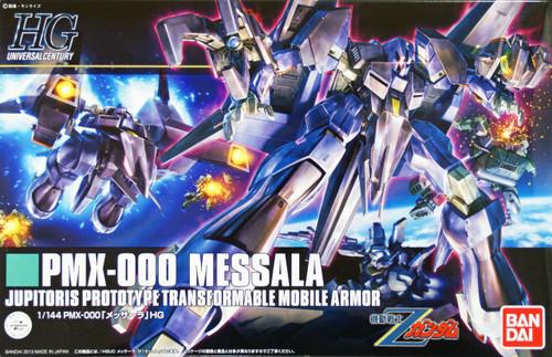 Bandai HGUC 157 Gundam PMX-000 MESSALA (Z Gundam) 1/144 Scale Kit
