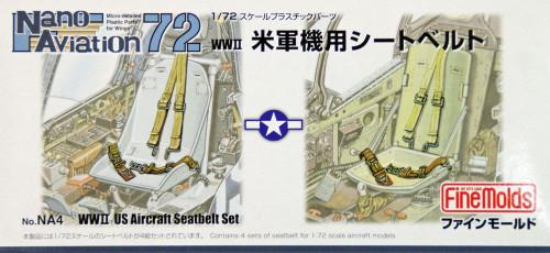 Fine Molds NA4 WW2 US Aircraft Seatbelt Set 1/72 Scale Kit