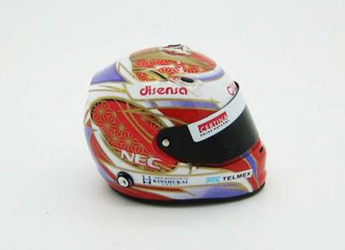 Fujimi GP SP27 F1 Sauber C31 Spain GP with 1/8 Scale Helmet 1/20 Scale Kit