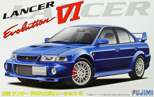 Fujimi ID-107 Mitsubishi Lancer GSR Evolution VI 1/24 Scale Kit 038902
