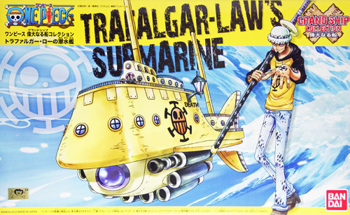 Bandai One Piece Grand Ship Collection 02 Trafalgar-Law's Submarine (Plastic Model Kit)