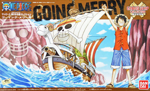 Bandai One Piece Grand Ship Collection 03 Going Merry (Plastic Model Kit)