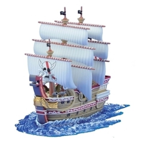Bandai One Piece Grand Ship Collection 04 Red Force (Plastic Model Kit)