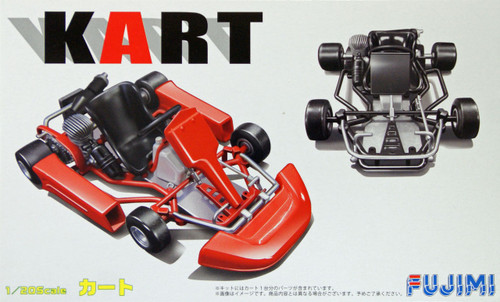 Fujimi KART-4 Kart 1/20 Scale Kit