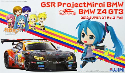 Fujimi 170022 BMW Z4 GT3 Hatsune Miku GSR Project Mirai Fuji 1/24 Scale Kit