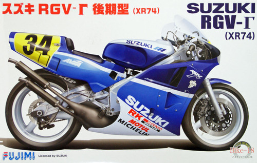Fujimi Bike-18 Suzuki RGV-gamma (XR74) 1988 Late Model 1/12 Scale Kit
