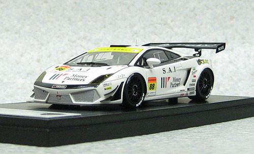 Ebbro 44956 MOnePa Lamborghini GT3 Super GT300 2012 #88 (Resin Model) 1/43 Scale