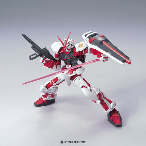Bandai 836687 HG Gundam Seed Gundam Astray Red Frame Flight Unit 1/144 Scale Kit