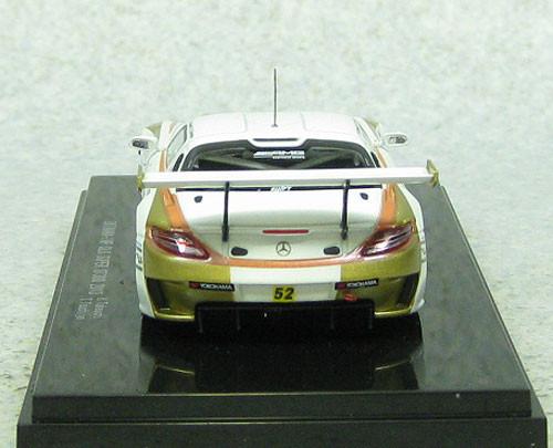 Ebbro 44938 OKINAWA IMP Mercedes Benz SLS AMG GT3 Super GT300 2013 52 1/43 Scale