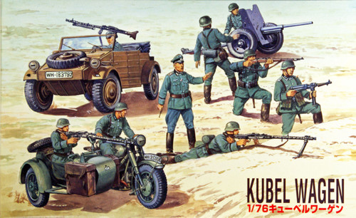 Fujimi SWA14 Special World Armor Kubel Wagen 1/76 Scale Kit