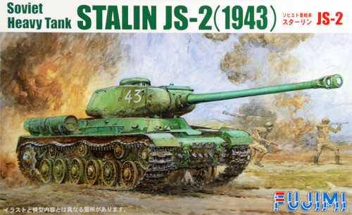 Fujimi SWA22 Special World Armor Stalin JS-2 (1943) 1/76 Scale Kit