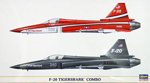 Hasegawa 00967 F-20 Tigershark Combo (2 planes set) 1/72 Scale Kit