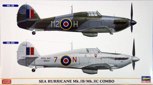 Hasegawa 02025 Sea Hurricane Mk.IB/Mk.IIC Combo (2 plane set) 1/72 Scale Kit