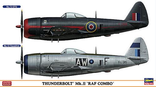 Hasegawa 02033 Thunderbolt Mk.II RAF COMBO (2 plane set) 1/72 Scale Kit