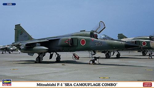 Hasegawa 02046 Mitsubishi F-1 Sea Camouflage Combo(2 plane set) 1/72 Scale Kit