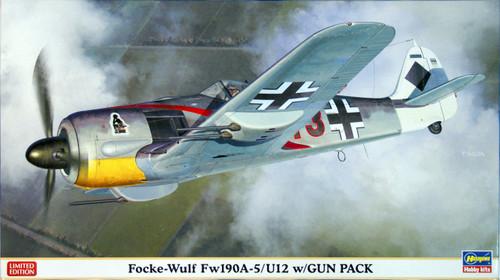 Hasegawa 07320 Focke-Wulf Fw190A-5/U12 with Gun Pack 1/48 Scale Kit