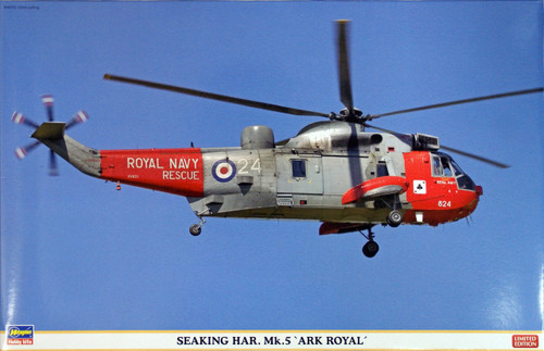 Hasegawa 07339 Seaking HAR Mk.5 Ark Royal 1/48 Scale Kit