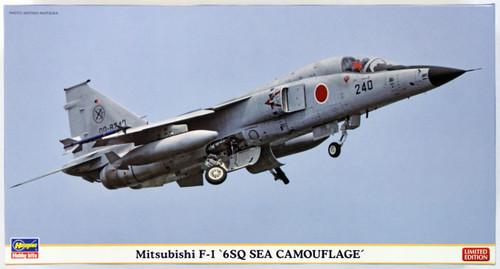 Hasegawa 07354 Mitsubishi F-1 6SQ Sea Camouflage 1/48 Scale Kit