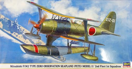 Hasegawa 09895 Mitsubishi F1M2 Zero Observation Seaplane (PETE) 1/48 Scale Kit