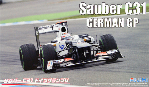 Fujimi GP55 F1 Sauber C31 German GP 1/20 Scale Kit