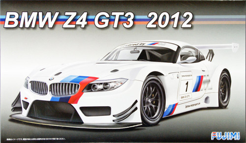 Fujimi RS-SP3 BMW Z4 GT3 2012 DX w/Etching Parts 1/24 Scale Kit