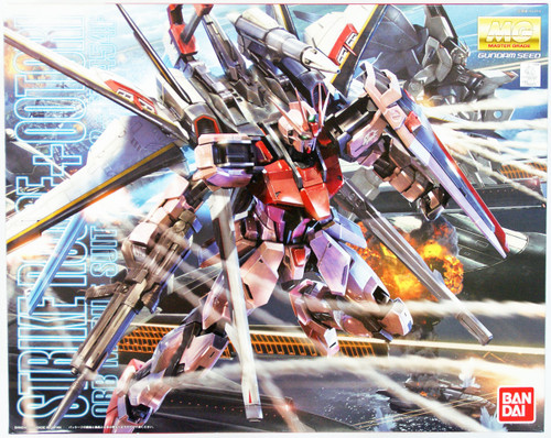 Bandai MG 844750 Gundam STRIKE ROUGE plus OOTORI Version RM 1/100 Scale Kit