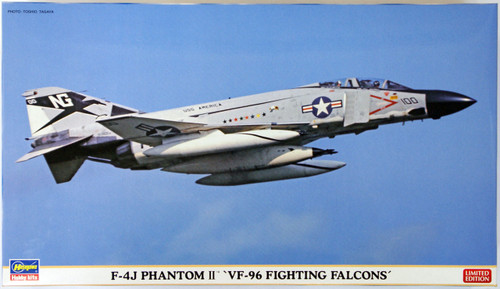 Hasegawa 02064 F-4J Phantom II VF-96 Fighting Falcoms 1/72 Scale Kit