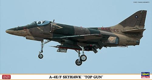 Hasegawa 07358 A-4E/F Skyhawk TOP GUN 1/48 Scale Kit