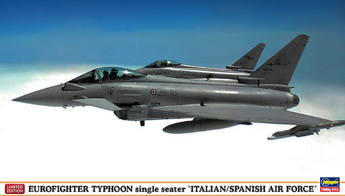 Hasegawa 02031 Eurofighter Typhoon Italian/Spanish Air Force 1/72 Scale Kit