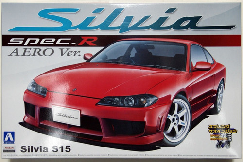 Aoshima 00694 Nissan Silvia Spec.R AERO Version 1/24 Scale Kit