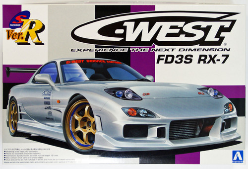 Aoshima 08102 C-West Experience The Next Dimension FD3S RX-7 1/24 Scale Kit
