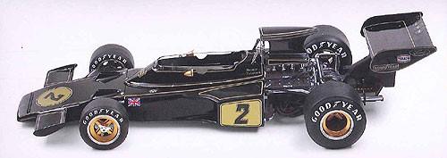 Ebbro 20009 Team Lotus Type 72E 1973 2nd. Production 1/20 Scale plastic model Kit