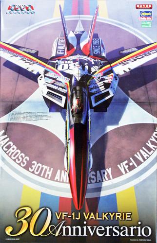 Hasegawa 65824 Macross VF-1J Valkyrie Macross 30th Anniversary 1/48 Scale Kit