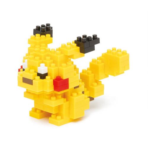 Kawada NBPM-001 nanoblock Pokemon Pikachu