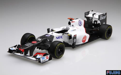 Fujimi GP SP28 F1 Sauber C31 Japan GP with Driver Figure 1/20 Scale Kit