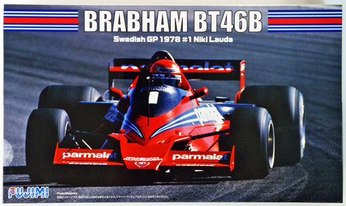 Fujimi GP SP35 F1 Brabham BT46B Swedish GP 1978 #1 Skeleton Body 1/20 Scale Kit