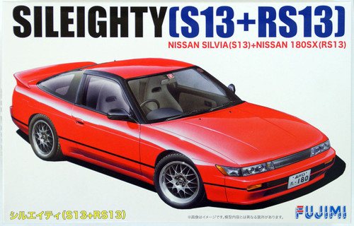 Fujimi ID-96 Nissan Sileighty (Silvia S13+180SX RS13) 1/24 Scale Kit