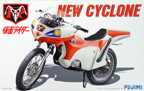 Fujimi 141541 New CyclOne Motorcycle (from Kamen Masked Rider) 1/12 Scale Kit